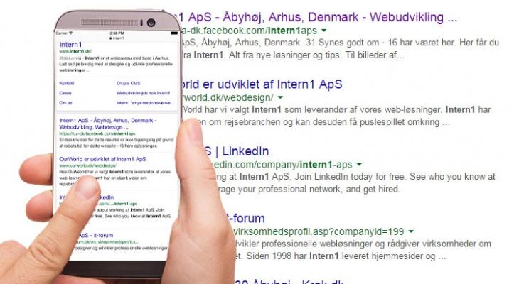 Google gør mobil-venlige websites til en ranking-faktor!